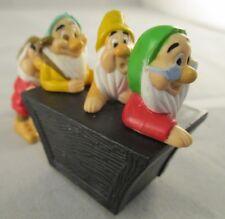 Vintage Burger King Kids Club Toy Snow White & Seven Dwarfs - 1994