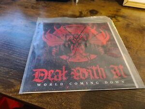 Deal With It World Coming Down Vinyl Ukhc Hardcore Punk Hxc