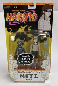 Mattel Shonen Jump's Naruto Neji Chakra Attack Action Figure MOC