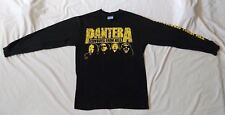 Pantera Shirt Cowboys from Hell Hostile Stronger than All Vintage 1992 used M