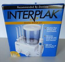 Conair Dental Water Jet Inerplak New System Oral Care Pressure Model