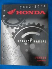 2002-2004 Honda FSC600 Silver Wing Factory Service Shop Repair Manual  P526