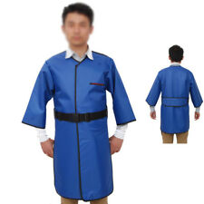 X-Ray Radiation Protection Apron 0.35mmPb Long Sleeve Thyroid Collar Size S Belt