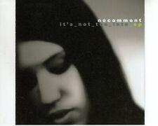 CD NOCOMMENTit's not too lateEP EX- (B3396)