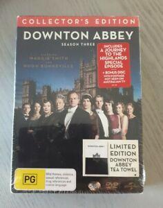 Downton Abbey Series 3 Season Three Box Set DVD Reg 4 New And Sealed Free Post