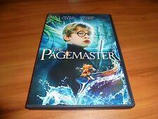 The Pagemaster (DVD, 2013 Widescreen) Macaulay Culkin Used