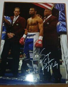 Sugar Shane Mosley 16x20 Autographed Signed Photo Poster Leaf COA Boxing Legend
