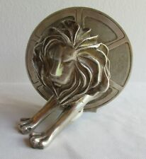 VERY NICE ARTHUS BERTRAND CANNES LYON & MOVIE REEL, SOLID SILVER PLATED BRONZE