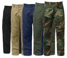 MILITARY BDU CARGO PANTS TACTICAL 6 POCKET EMT FATIGUE TROUSERS