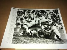 Buffalo Bills vs. Houston Oilers 1963 AP Wire Photo
