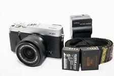 Fujifilm X Series X-E1 16.3MP Digital Camera with 15-45 lens read description