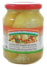 Apfelpaprika gefüllt mit Essig und Kraut Pikant 650g