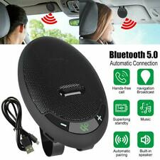 Wireless car Bluetooth 5.0 mobile phone hands-free speaker NEW