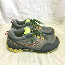 SAUCONY EXCURSION TRAIL RUNNING SHOES / MULTI COLOR ( SIZE 6 ) BOY`S