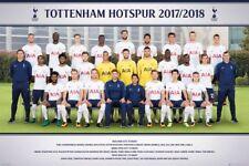 "TOTTENHAM HOTSPUR FC 2017/2018 TEAM POSTER ""LICENSED"" (61X91.5cm) BRAND NEW"" EPL"