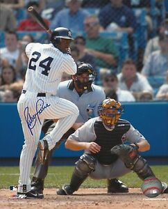 Ruben Sierra 1996 World Series Champion New York Yankees Signed 8x10 Photo COA