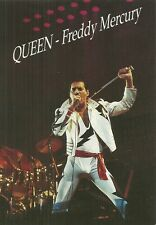 RARE / CARTE POSTALE - POSTCARD : THE QUEEN FREDDIE MERCURY /COMME NEUF LIKE NEW