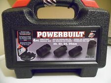 Powerbuilt Axle Nut Socket Set Kit #10, - #648635