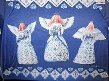 Rare! Htf Euc! Jim Shore Designs Psalms Verse Blue Angels Collectible Umbrella