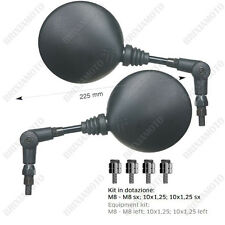 COUPLE FOLDABLE MIRRORS FAR M8 M10 LH - RH KAWASAKI VERSYS ER6 ER6N KLR