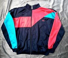 6df108a5c566 Vintage 80s Puma Track Top-Black Red Green-Mens 38