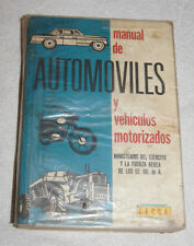 Manual de Automoviles y vehiculos motorizados (1983) Mexico