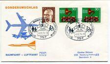 1974 Sonderumschlag Raumfahrt Luftfahrt Baden Philatelie Deutsche Bundespost