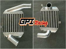 Thick Pair Aluminum Intercooler FOR AUDI A4 B5 S4 RS4,A6 C5 2.7T BI-TURBO 90mm
