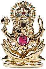 Figur Ganesha Buddha Elefant Shiva Indische Gottheit mit SWAROSVKI ELEMENTS