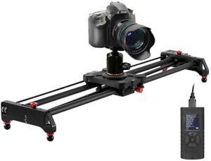 "GVM Carbon Fiber Motorized Camera Video Slider Auto Loop Time-Lapse 32"" 80"