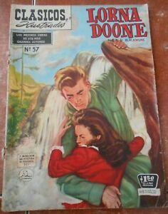 CLASSICS illustrated LA PRENSA comic LORNA DOONE spanish R D BLACKMORE 1957 rare