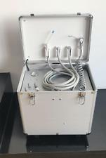 Dental Portable Dental Unit Metal Mobile Case Aluminum 4 Holes