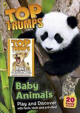 TOP TRUMPS Baby Animals Book Plus 20 Top Trumps Cards RRP £6.99 Puffin