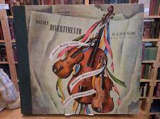 """Mozart,Divertimento in E Flat Major, Victor 78"""" set, DM 959 VG+/NM"""