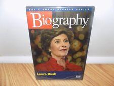 Biography: Laura Bush (DVD, 2005) BRAND NEW, SEALED