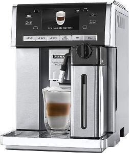 "DeLonghi PrimaDonna ESAM 6900.M Kaffeevollautomat Milchsystem,4,6"" Display,Kakao"