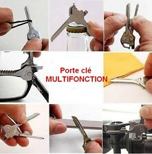 PORTE CLÉ  clef  multifonction  key ring  multifonctional tool