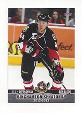 2012-13 Binghamton Senators (AHL) Ben Blood (Ässät)