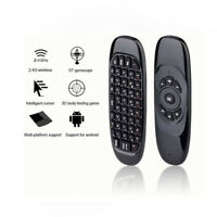 2.4G-Wireless Remote Control Air Mouse Keyboard For Android TV Box Kodi PC RA