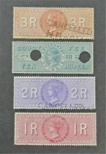 nystamps British India Stamp Used Unlisted Rare