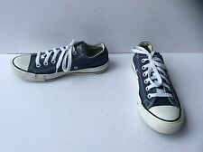 Unisex Blue Converse All Star Low Trainers, Size: UK - 4.5     EU - 37