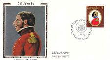 Canada FDC Sc # 819/820 2 Canadian Colonels covers w/ Colorano cachet- WW7317