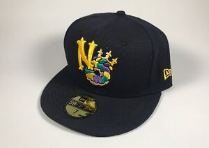 New Orleans Baby Cakes New Era Road On Field Hat Size 7 NWT