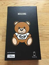 """SS16/SS17 MOSCHINO X JEREMY SCOTT iPHONE BATTERY PACK 6/ 6S  """"TOY"""" RRP £135"""