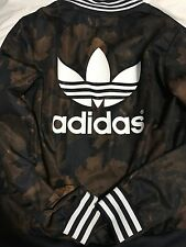 Adidas Women's Leaf Camo Superstar Track Jacket in Multi-Colour Size Medium