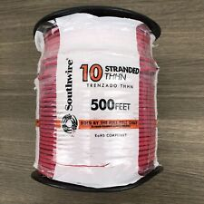 Southwire 10 AWG Red Stranded CU THHN Hookup Wire 500 ft