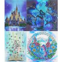 DIY Special Shaped Diamond Painting Cross Stitch Embroidery Home Art Decor