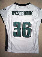 REEBOK Philadelphia Eagles BRIAN WESTBROOK nfl Jersey Youth  GIRLS  s 3974d3fce