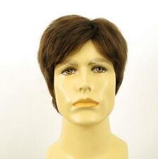 Perruque homme 100% cheveux naturel châtain clair ref PIERRE 8