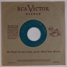 HENRI RENE: Hora Staccato Polka '49 RCA Victor 45 Super VG+ Hear GREEN WAX